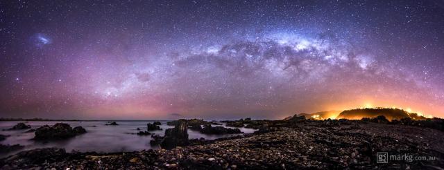 Princess Bay Aurora and Milky Way